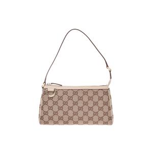 Gucci GG Canvas Canvas Bag Beige,White