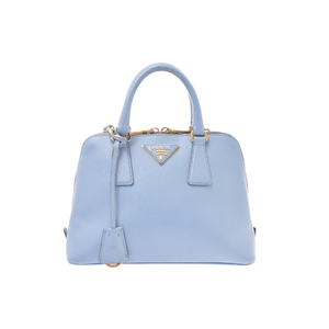 Prada サフィアーノ Leather Bag Blue