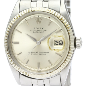 Rolex Datejust Automatic Stainless Steel,White Gold Men's Dress Watch 1601