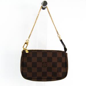 ルイ・ヴィトン(Louis Vuitton) ダミエ ミニ・ポシェット・アクセソワール N58009 レディース ハンドバッグ エベヌ