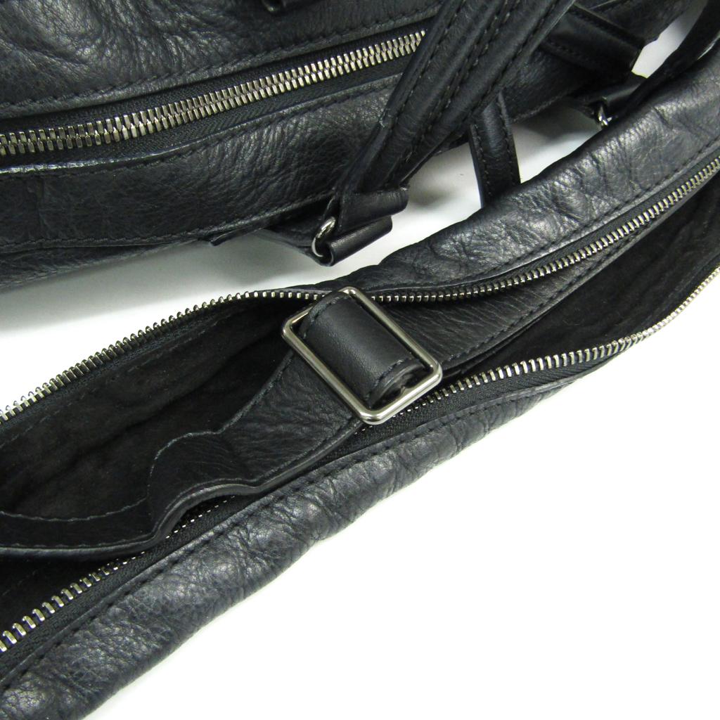 ジバンシィ (Givenchy) ナイチンゲール ミディアム レザー ハンドバッグ ブラック