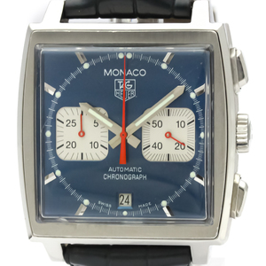 Tag Heuer Monaco Automatic Stainless Steel Men's Sports Watch CW2113