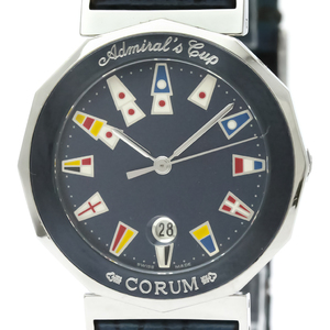 Corum Admiral's Cup Quartz Stainless Steel Women's Dress Watch 99.710.30