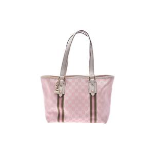 グッチ(Gucci) GGキャンバス キャンバス バッグ ピンク,ホワイト