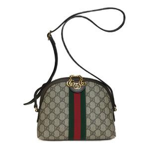 グッチ(Gucci) 499621 GGスプリーム オフィディア ショルダーバッグ ベージュ ブラウン