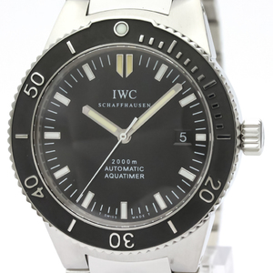 IWC Aquatimer Automatic Stainless Steel Men's Sports Watch IW353602