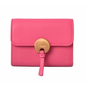 Chloé Chloe Mini wallet folded Alphabet CHC17AP946H1Z 4E2 Wash Blue