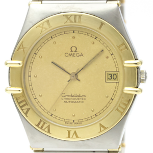 Omega Constellation Automatic Stainless Steel,Yellow Gold (18K) Men's Dress Watch