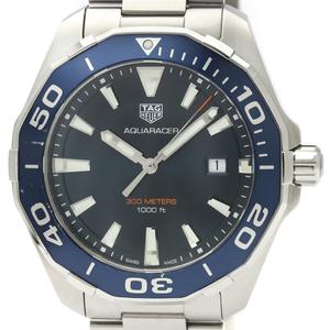 Tag Heuer Aquaracer Quartz Stainless Steel Men's Sports Watch WAY101C