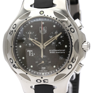 Tag Heuer Kirium Quartz Titanium Men's Sports Watch CL1181