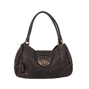 Prada Handbag Women's Leather Handbag Black
