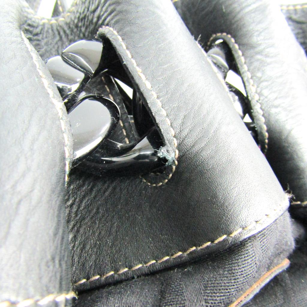 フルラ(Furla) レディース レザー ハンドバッグ ブラック