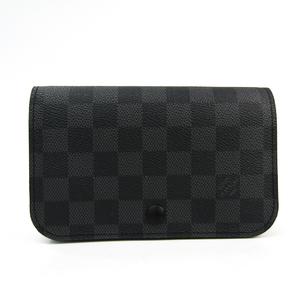 ルイ・ヴィトン(Louis Vuitton) ダミエ・グラフィット サンチュール ポシェットオム ベルトなし M6837 メンズ ポーチ ダミエ・グラフィット