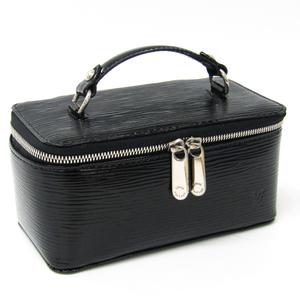 Louis Vuitton Epi Jewelry Case M6009N Jewelry Case Noir Magnétique Epi Leather