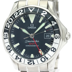OMEGA Seamaster GMT Gerry Lopes Steel Automatic Watch 2536.50