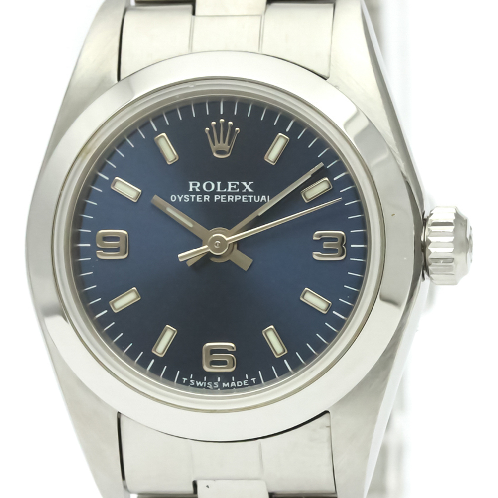 Rolex Oyster Perpetual Automatic Stainless Steel Women's Dress Watch 76080
