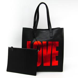 ジバンシィ(Givenchy) LOVE BASIC TOTE Medium BB05480780 ユニセックス レザー トートバッグ ブラック,レッド