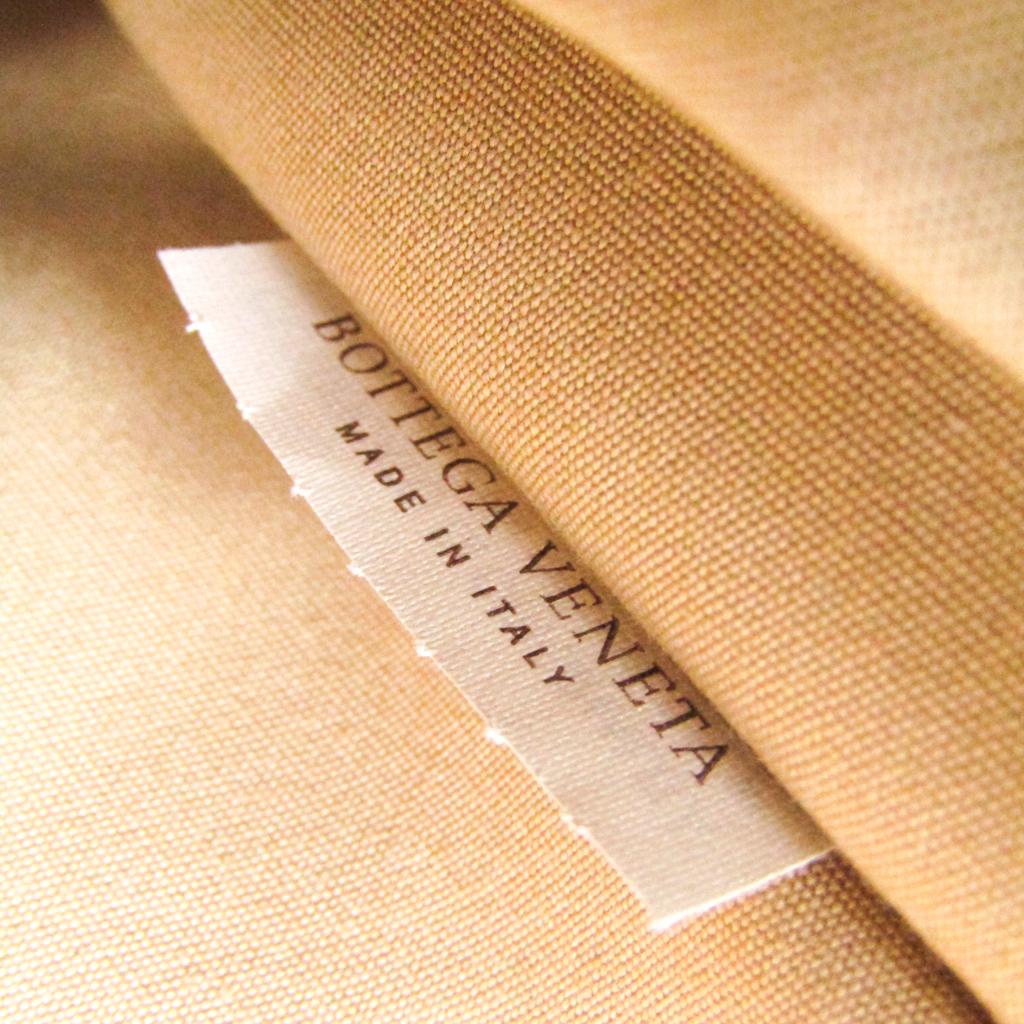 ボッテガ・ヴェネタ(Bottega Veneta) 140065 ユニセックス PVC,レザー ボストンバッグ アイボリー