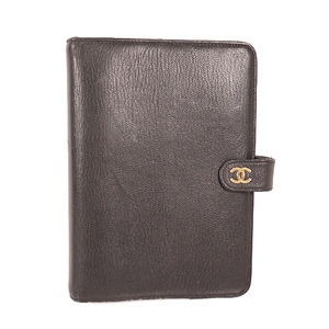 Chanel Planner Cover Black Notebook cover