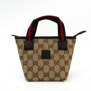 グッチ(Gucci) チルドレン 284733 ガールズ,レディース GGキャンバス/ウェビング ハンドバッグ ベージュ,グリーン,レッド