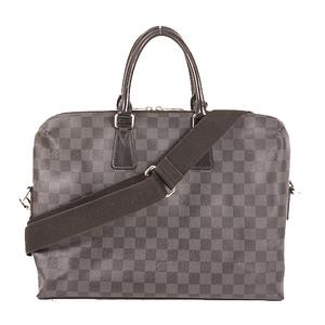 ルイ・ヴィトン(Louis Vuitton) ダミエ・グルイヴィトン ブリーフケース ダミエグラフィット N48224ラフィット N48224 メンズ ブリーフケース,ショルダーバッグ ブラック