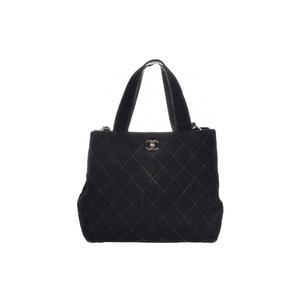 シャネル(Chanel) ワイルドステッチ スエード バッグ