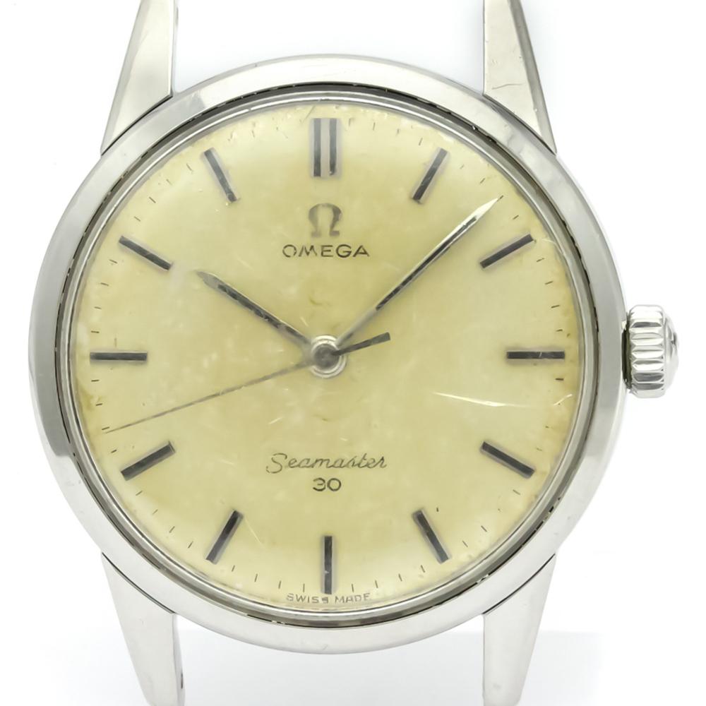 Omega Seamaster Mechanical Stainless Steel Men's Dress Watch 135.006