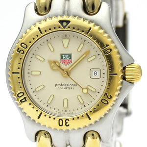 Tag Heuer Sel Quartz Gold Plated,Stainless Steel Women's Dress Watch WG1321
