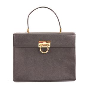 Auth Salvatore Ferragamo Ganchini 2way Bag
