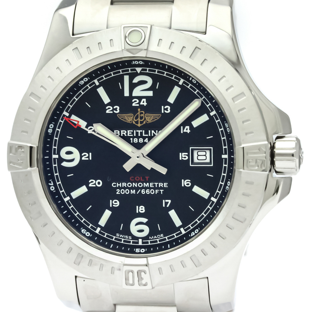 Breitling Colt Quartz Stainless Steel Men's Sports Watch A74388