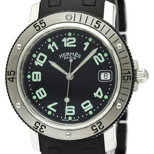 Hermes Clipper Quartz Stainless Steel Men's Sports Watch CL7.715