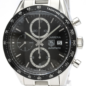 TAG HEUER Carrera Chronograph Steel Automatic Watch CV2010