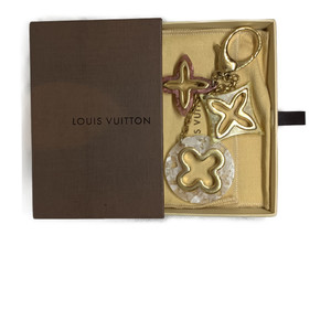 Louis Vuitton Bijoux de sac Insolence M66884 Keyring (Pink/White/Yellow)
