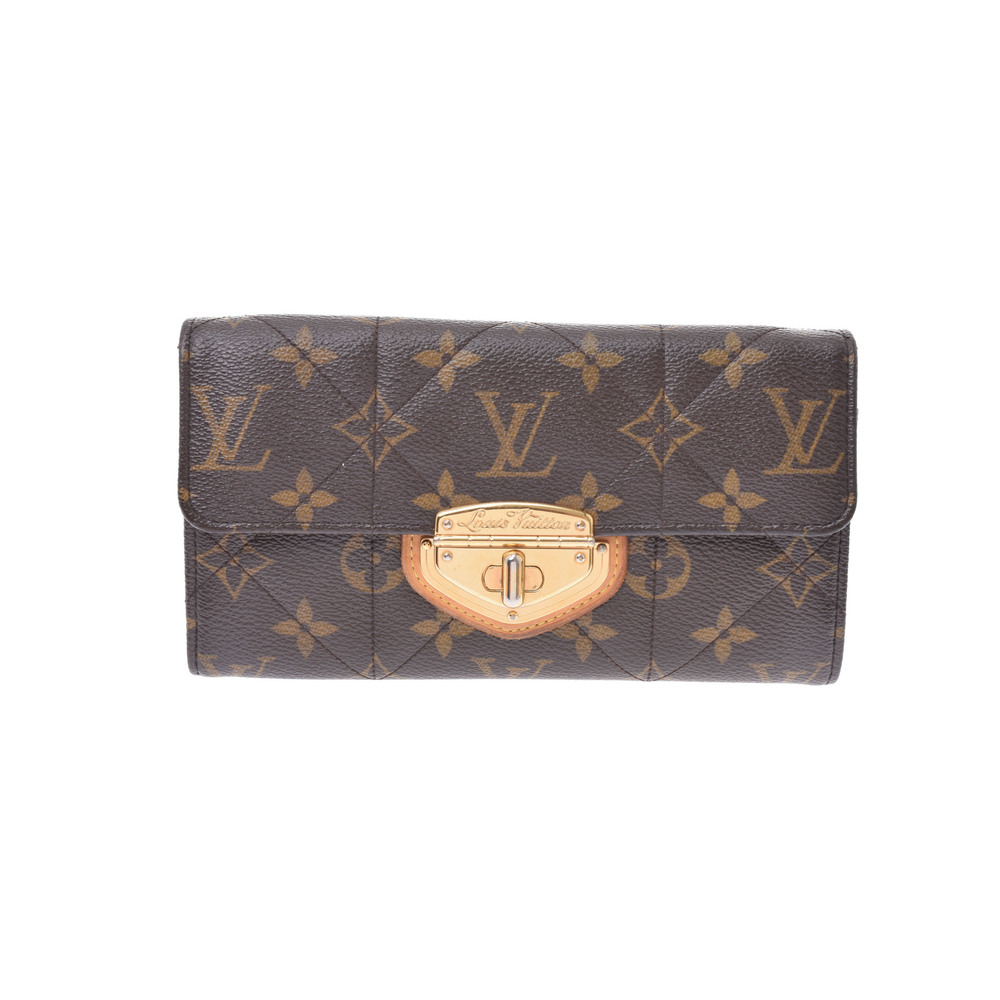 official photos 27ef3 8385b Louis Vuitton Monogram Etoile M66556 Monogram Long Wallet (bi-fold)  Monogram | eLady.com