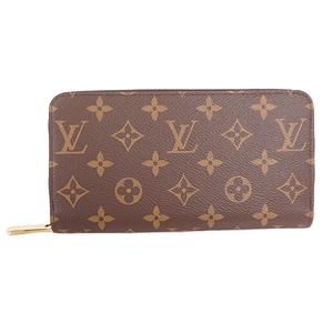 Louis Vuitton Monogram M41895 Unisex,Men,Women Leather,Monogram Long Wallet (bi-fold) Brown,Monogram