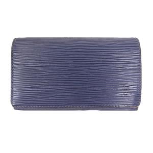 Louis Vuitton Epi M60320 Women's Epi Leather Long Wallet (bi-fold) Blue