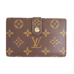 Louis Vuitton Monogram M61663 Women's Leather Wallet (bi-fold) Monogram