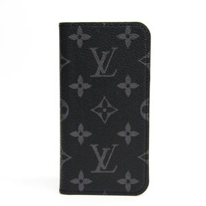 ルイ・ヴィトン(Louis Vuitton) モノグラム・エクリプス モノグラムエクリプス 手帳型/カード入れ付きケース iPhone X 対応 iPhone X & XS・フォリオ M63446