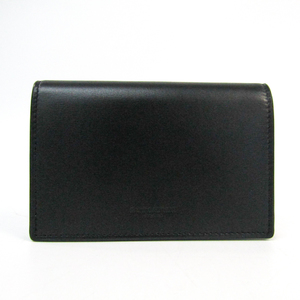 Saint Laurent Classic Fragment Flap Wallet 456150 Unisex  Calfskin Middle Wallet (bi-fold) Black