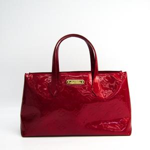 ルイ・ヴィトン(Louis Vuitton) モノグラムヴェルニ ウィルシャーPM M93642 ハンドバッグ ポムダムール