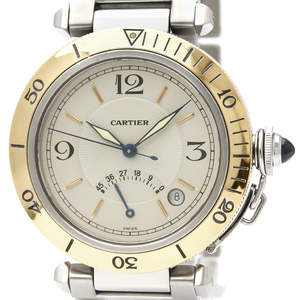 Cartier Pasha 38 Automatic Stainless Steel,Yellow Gold (18K) Men's Dress Watch W31012H3