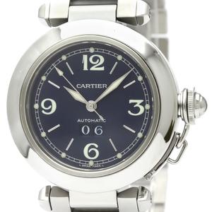 【CARTIER】カルティエ パシャC ビッグデイト ステンレススチール 自動巻き ユニセックス 時計 W31047M7