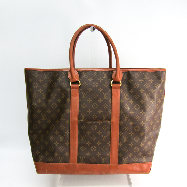 Louis Vuitton Monogram Sac Weekend GM M42420 Women's Handbag Monogram