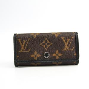 ルイ・ヴィトン(Louis Vuitton) モノグラム・マカサー ミュルティクレ6 M60165 メンズ  キーケース ブラック,モノグラム