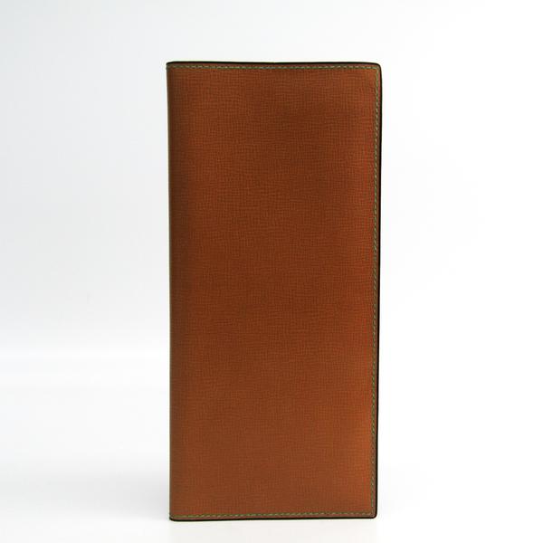 Valextra マルチケース V2L21 Unisex  Calfskin Bill Wallet (bi-fold) Camel