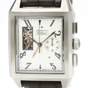 Zenith Automatic Stainless Steel Men's Sports Watch 03.0550.4021