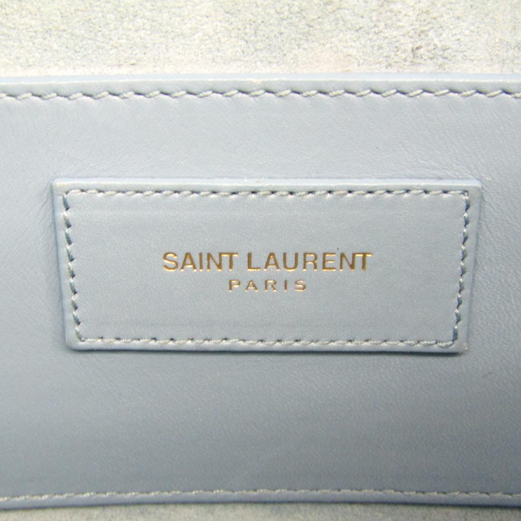 サン・ローラン(Saint Laurent) ベイビーダッフル 330958 レディース レザー ハンドバッグ ブルー