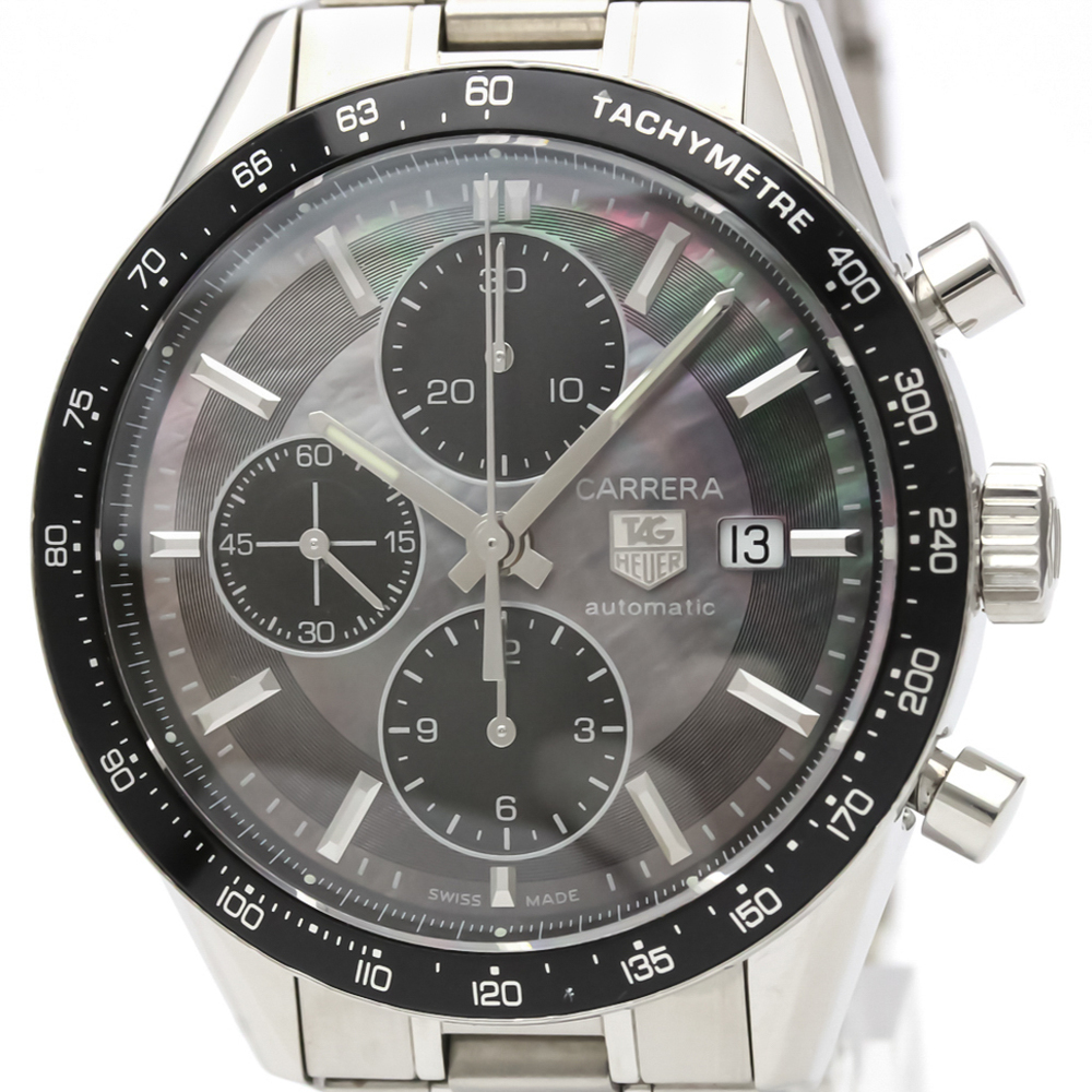 Tag Heuer Carrera Automatic Stainless Steel Men's Sports Watch CV201K