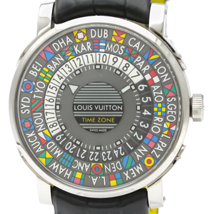 Louis Vuitton Escale Automatic Stainless Steel Men's Dress Watch Q5D20