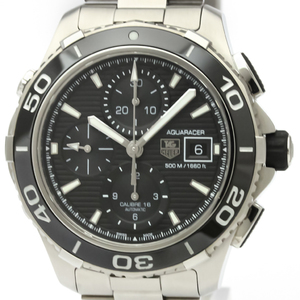 Tag Heuer Aquaracer Automatic Stainless Steel Men's Sports Watch CAK2110
